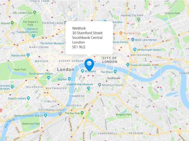 WeWork 30 Stamford Street Southbank Central London SE1 9LQ