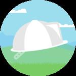 Surveyor's safety hat
