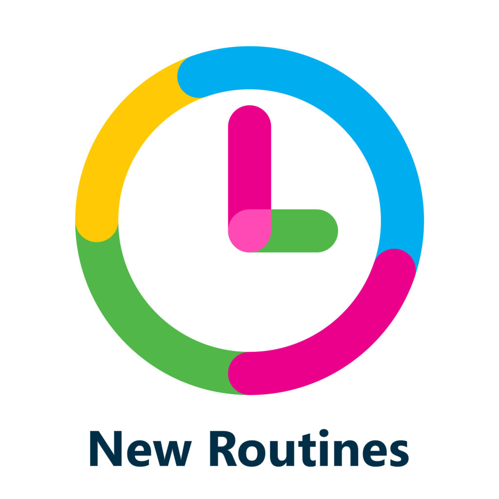 Clock New Routines Icon